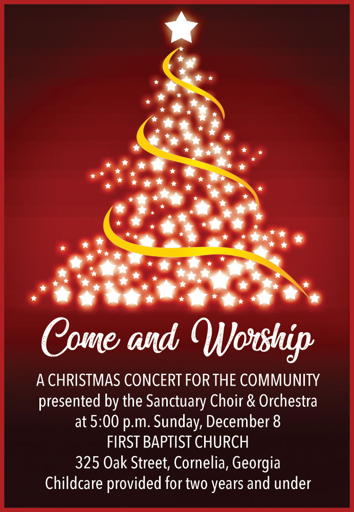 Come and Worship Christmas Services